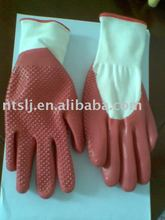 nitrile dotted gloves