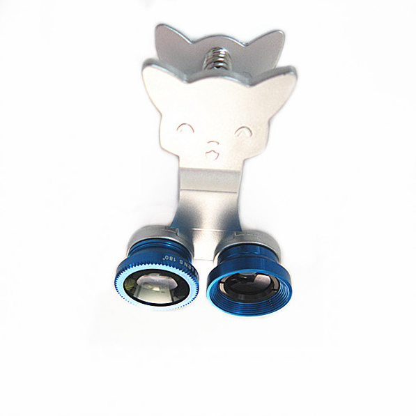 made in china cute lens kit for mobiphone with universal clip camera loens for iphone samsung