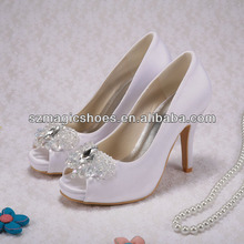 Custom Handmade Ladies Butterfly Designer Shoes with Diamond