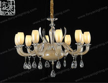 Chinese Rustic Style Flower Chandeliers by Guzhen Factory MDG3109-6