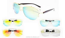 polarized mirrored aviator sunglasses cl0k  new products metal polarized mirror aviator sunglasses