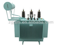 11kv 33KV 500KVA Oil Immersed Power Transformer