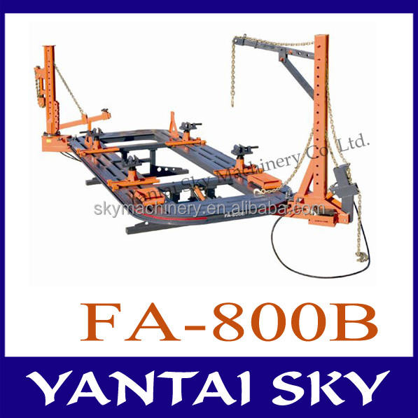 CE proved frame machine/auto repair / used auto body equipment