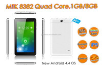 7 inch quad core android 4.4 built-in gps 3g wifi user manual mid tablet pc