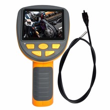 Industrial Endoscope 3.9mm Camera Video Inspection Pipe Borescope 180 degree Rotation Snake Scope
