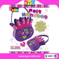 Children DIY handbag felt kit