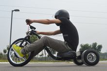 High Carbon Steel Frame Electric Drift Trike