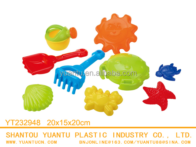 Hot Funny Plastic Sand Beach Push Car Toys/5PCS for boys!