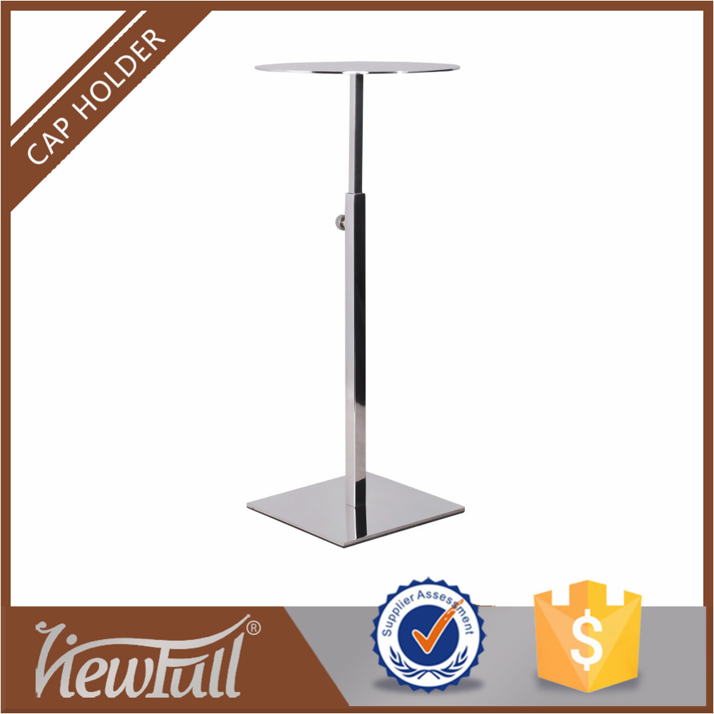 Hat stand fashion window decorative table stand for clothes shop hat store