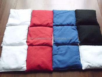 "top quality cornhole bag,6""x6"" bean bags"
