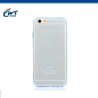 Custom ultra thin tpu case for iPhone 6 durable anti-shock tpu rubber case for iPhone 6