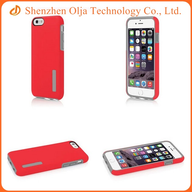 Silicone PC cell phone case ,mobile phone cover for iPhone 6