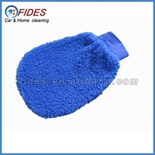 car cleaning polishing synthetic wool wash mitt