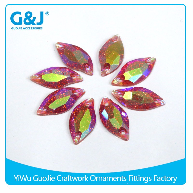 guojie brand Hot selling flatback style to decorate clothing shoes crystal rhinestone