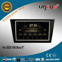 New 2016 Android tablet 9 inch car dvd for vw Bora 2016 car gps player