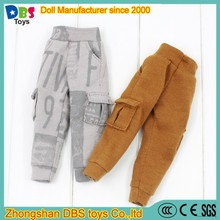 (YW-AC60186) DBS toys brown doll cargo pants overall action figure clothes