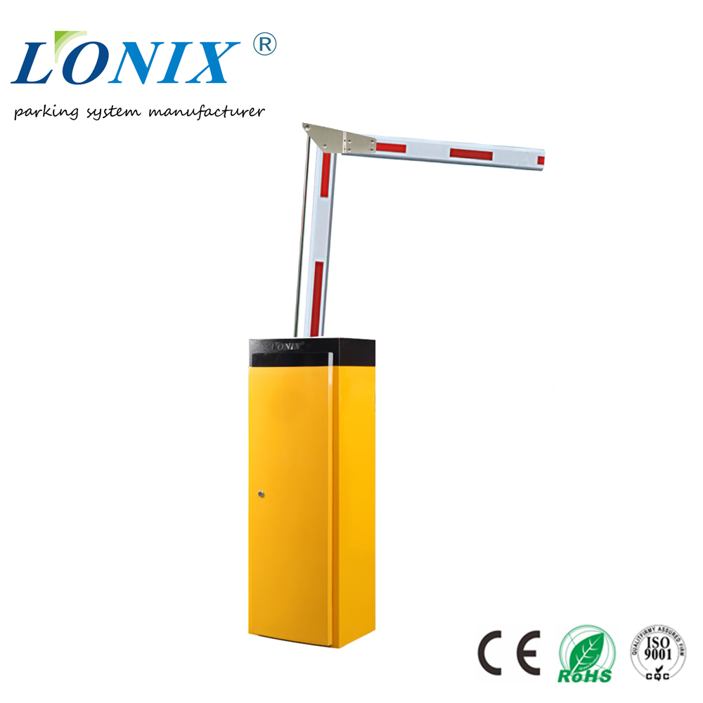 Automatic Car Park Barriers for Traffic Control with Fold Boom Pole