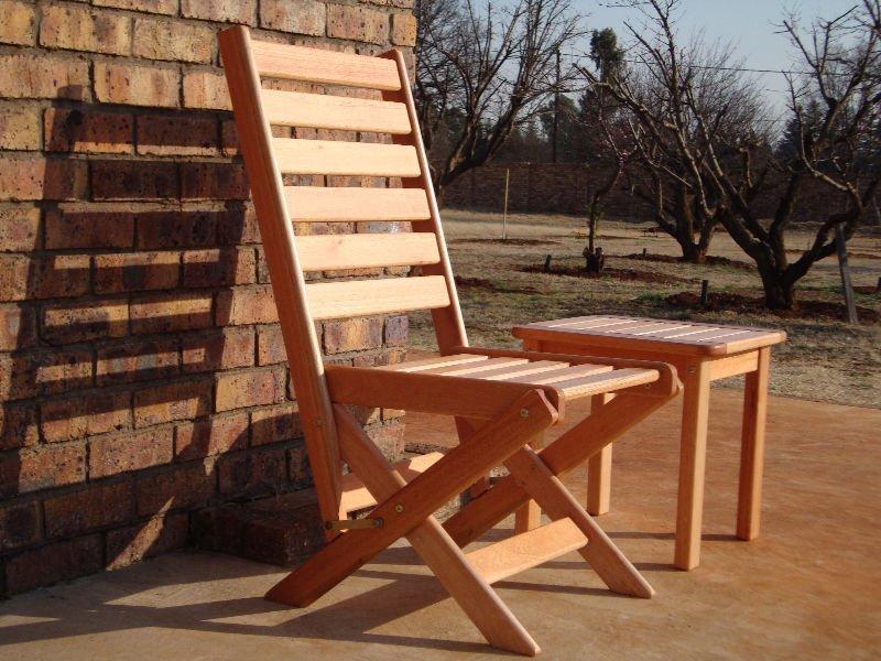 Madera de largo silla plegable saligna sillas para la for Sillas para la sala