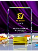 Excellent Supplier Award Trophy Crystal