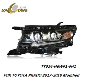 Auto Parts Accessories Headlight for TOYOTA Prado 2017-up year LED Xenon Headlight for TOYOTA