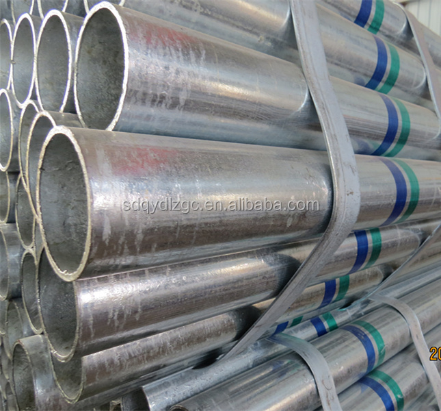 BS1387-1985 Hot dip galvanized steel pipe/Q345B galvanized steel <strong>tube</strong>