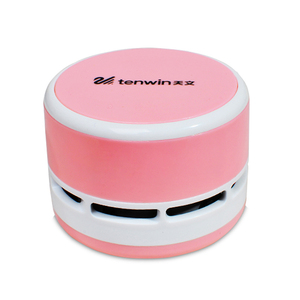 Wholesale Multi Mini Portable Desktop Battery Nylon Brush Robot Table Vacuum Cleaner Dust Collection Equipment Sweeper Bagless