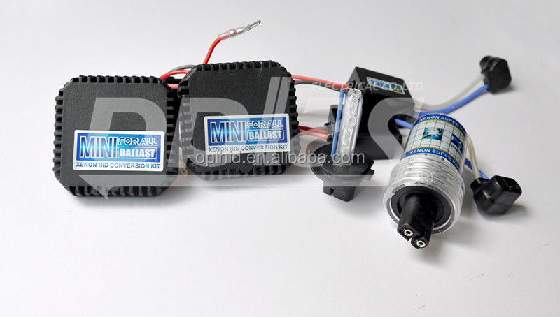 mini for all H7 12V 55W 6000K xenon kits car lighting waterproof hid conversion kit