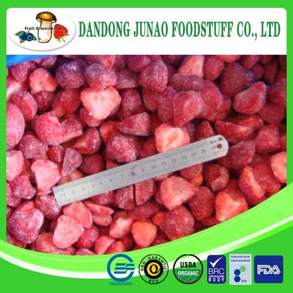 Wholesale new crop Grade B iqf fruit frozen strawberry