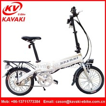 2015 Europe Popular Style High Power Small Folding Electric Bike Small Electric Bicycle Power Mini Electric Bike Used In City