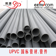 Jinan pvc pipe and fittings for pressure water supply, farm irrigating, sewer , conduit