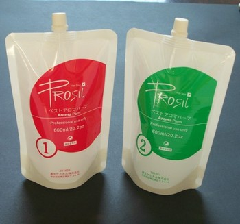 compound drinking liquid water packaging plastic pouches with spout