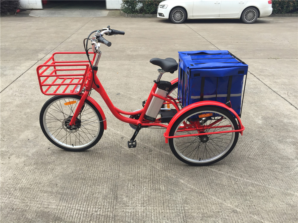 New Design 36V250W Front Motor Electric Tricycle