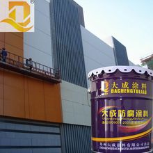 High weatherability low frictional fluorocarbon non stick coating paint