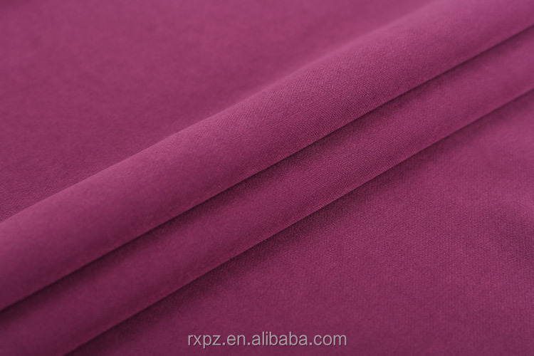 China Suppliers Soild 4 way stretch woven polyester elastane fabric