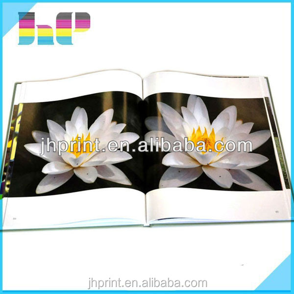 2015 latest A3 size glossy paper bright colorful Photo Book/Album Printing.