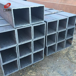 Mill Certificated MS seamless welded square steel pipe Q235b from China