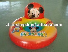 Factory hot sale promotion PVC inflatable children beach chair