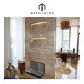 Top sale customizable walling design cream beige marble tile