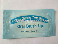 Very popular tooth whitening finger wipes
