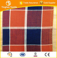 Hot sales cotton check fabric school uniform