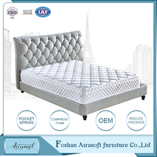 Sweet dream pocket spring foam hotel five star hotel bed mattress