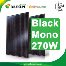 all black mono 250w 255w 260w 270w solar panels with high cost performance