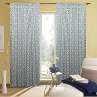 Latest New Models 2015 Latest Design 3 Pass Fire Retardant Blackout Curtain Fabric Wholesale