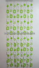 plastic bead door curtain / decorative beads curtain