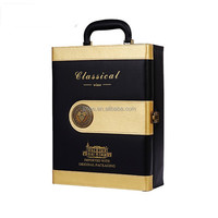 wine box with wholesale wine accessories 2 bottle custom leather wine case