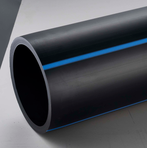 Plastic water supply pipe hdpe