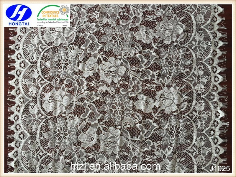 Hongtai handmade satin flower, doilies, lace trimming, eyelash lace in China
