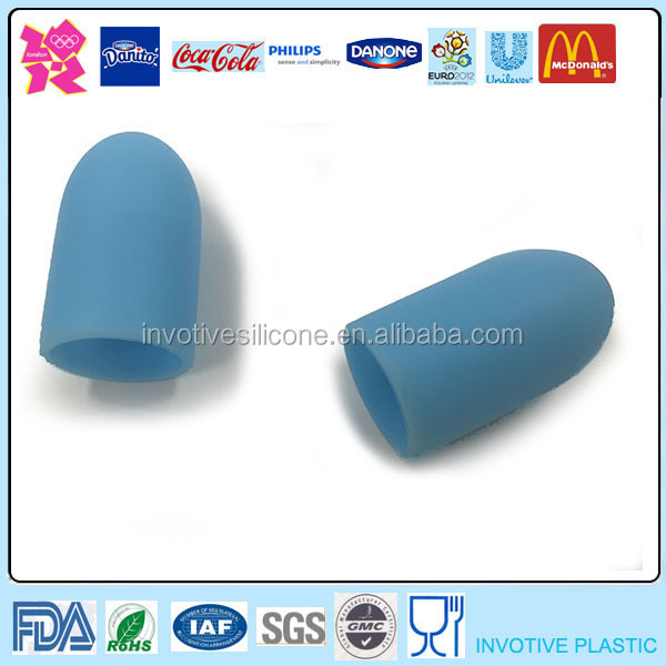 100% Food Grade Environmental Friendly Silicone Finger Tips Gloves