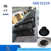 Vilder audio single 12 inch top line array GEO S1210 Pro Audio Professional Neodymium Line Array Speaker
