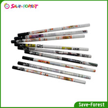 High end transfer technology paper pencil with colorful design
